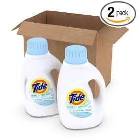 Amazon: Tide Free & Gentle 2 pack only $8.17 Shipped!