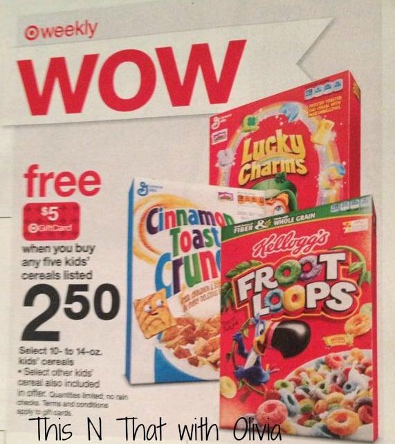 Target Cereals