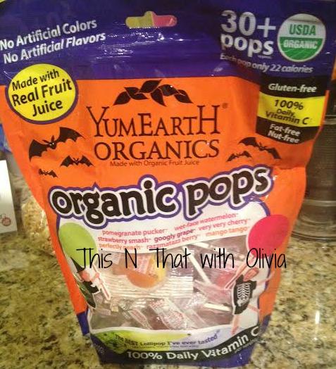 yum earth pops