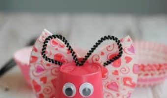 DIY Butterfly K-Cup Craft