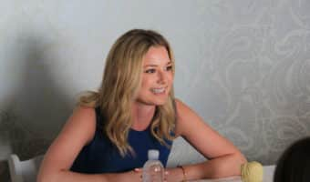 Exclusive Interview with Emily VanCamp at the #CaptainAmericaEvent