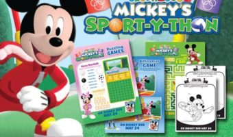 FREE Mickey Mouse Sport-Y-Thon Printables