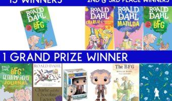 The BFG Prize Pack Giveaway!  #TheBFG  (Ends 7/8)