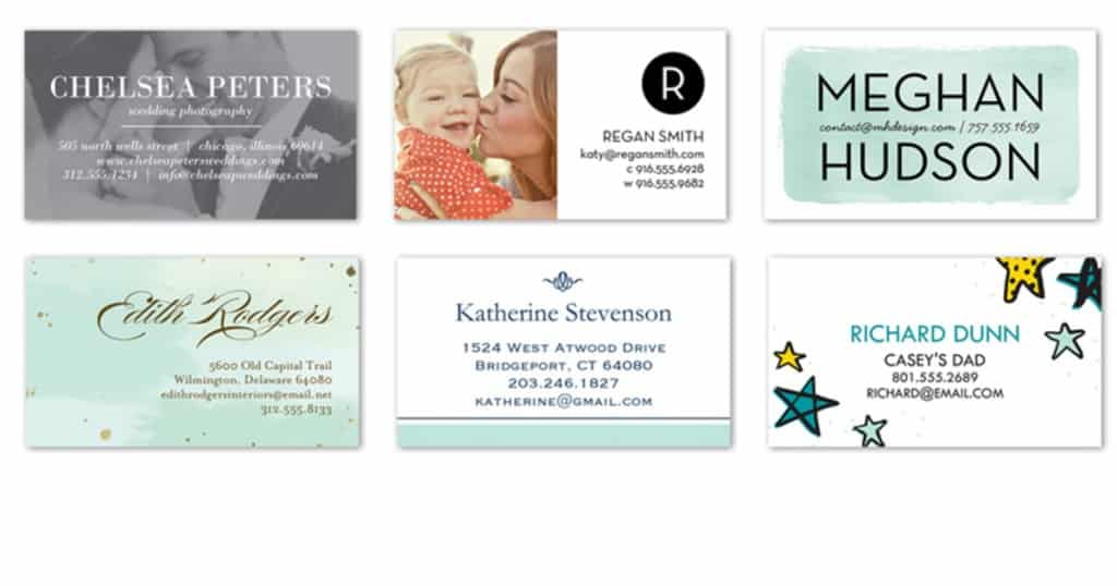 Shutterfly 50 FREE Business Cards Just Pay $4 99 Shipping