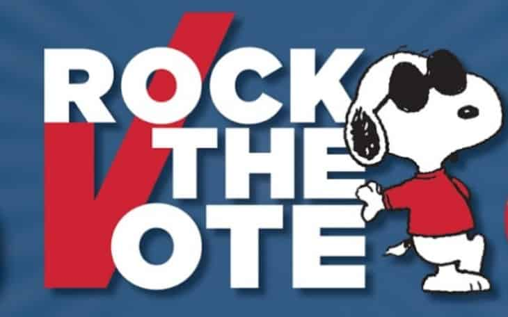 Peanuts Quot Rock The Vote Quot Initiative Prize Pack Giveaway