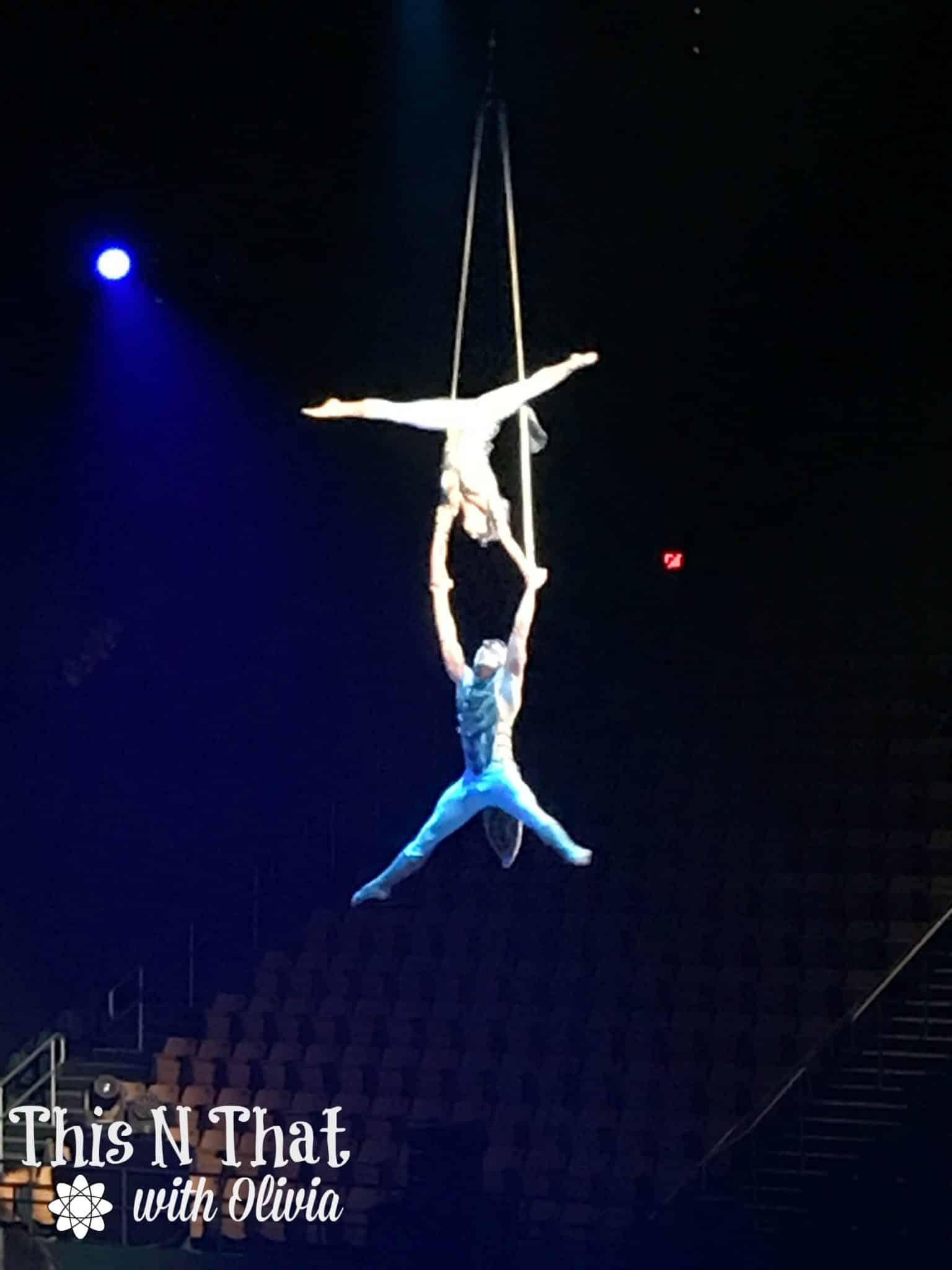 Cirque Du Soleil OVO at EagleBank Arena! #OVO #USFG #Hosted
