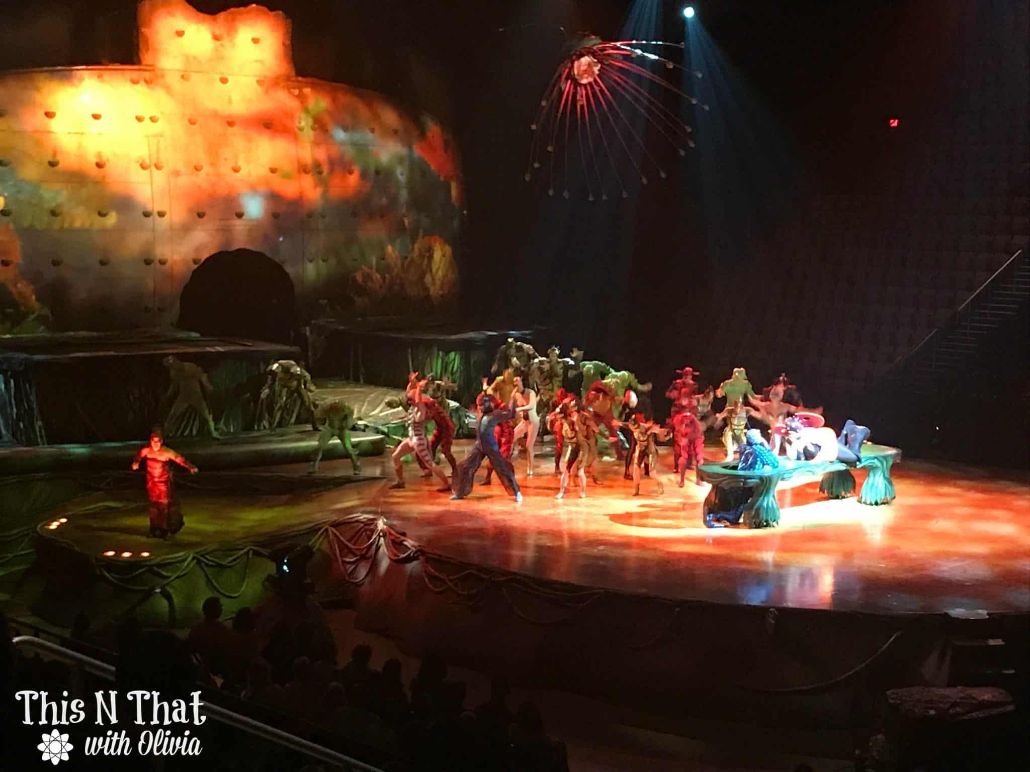 Cirque Du Soleil OVO at EagleBank Arena! #OVO #USFG #Hosted