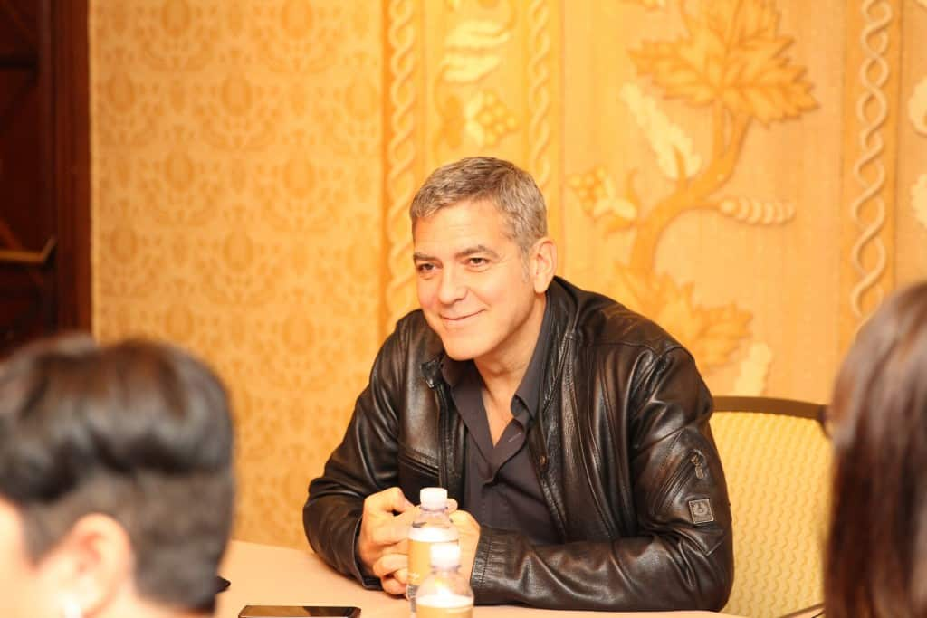 I had the privilege to sit down and chat with THE George Clooney about the new movie Tomorrowland. Click through to read all about it. #TomorrowlandEvent