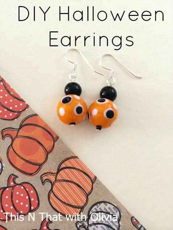 Halloween Earrings 6