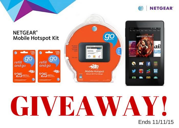 Netgear Hotspot Giveaway