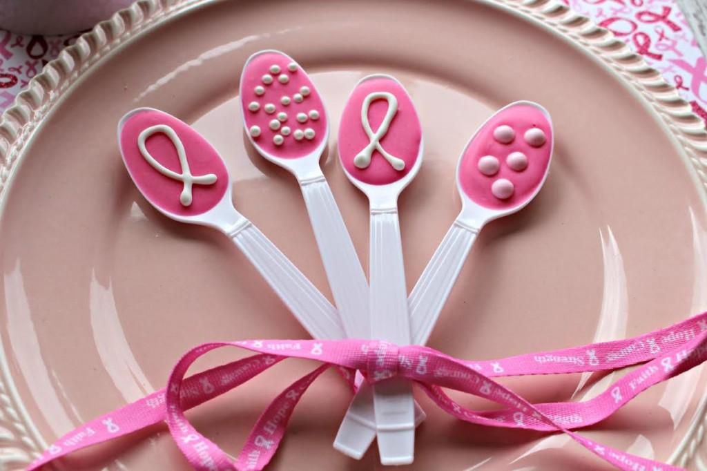 Pink Ribbon Spoons 1