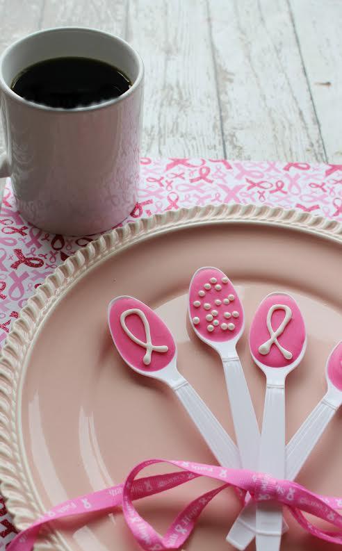 Pink Ribbon Spoons 2