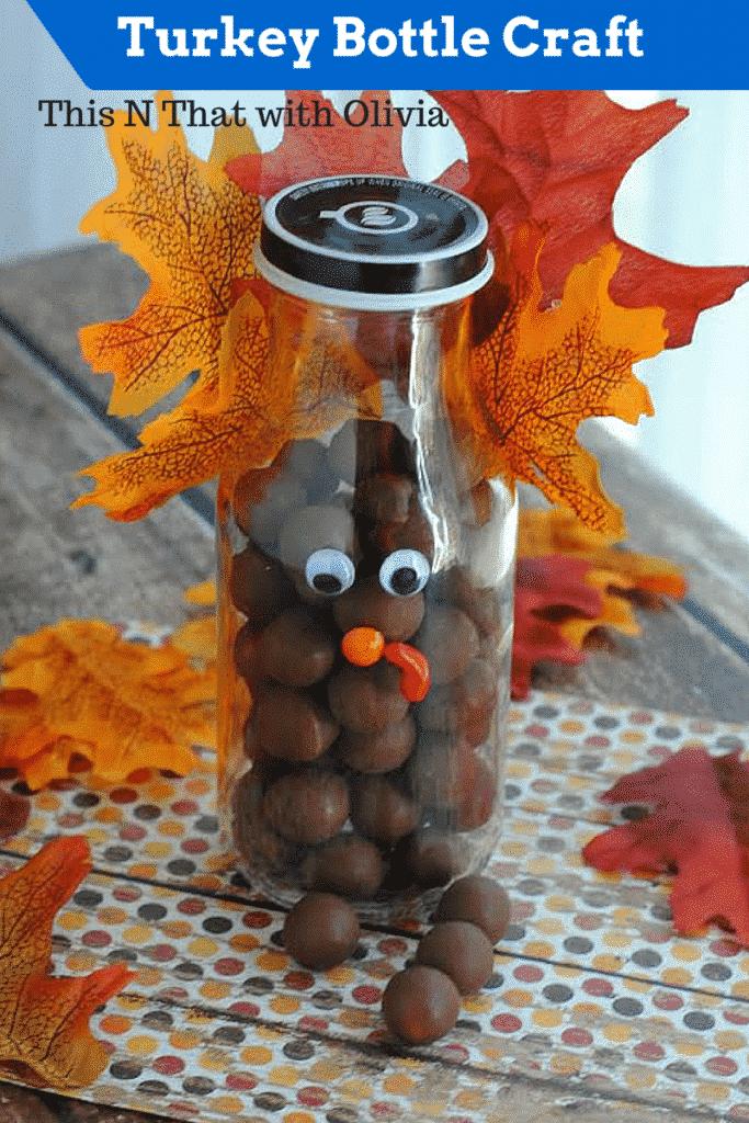 Turkey Bottle Craft
