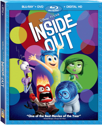 Inside Out on Bluray 11/3