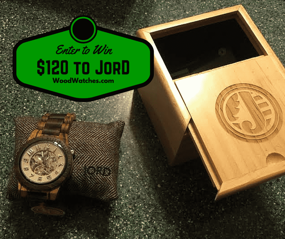 Enter to win $120 to Jord Wood Watches #2015HGG