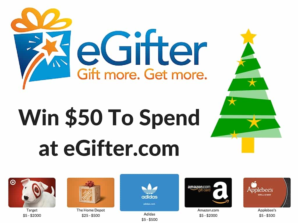 Enter to win $50 to egifter