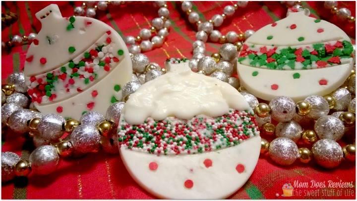 Chocolate Christmas Ornaments