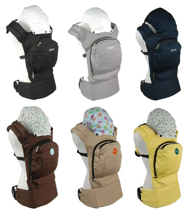 Mo+m Baby Carrier #Babywearing @MothersOnTheMove #WearAllTheBabies