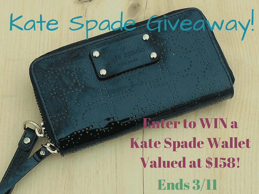 Enter to win a Kate Spade Wristlet