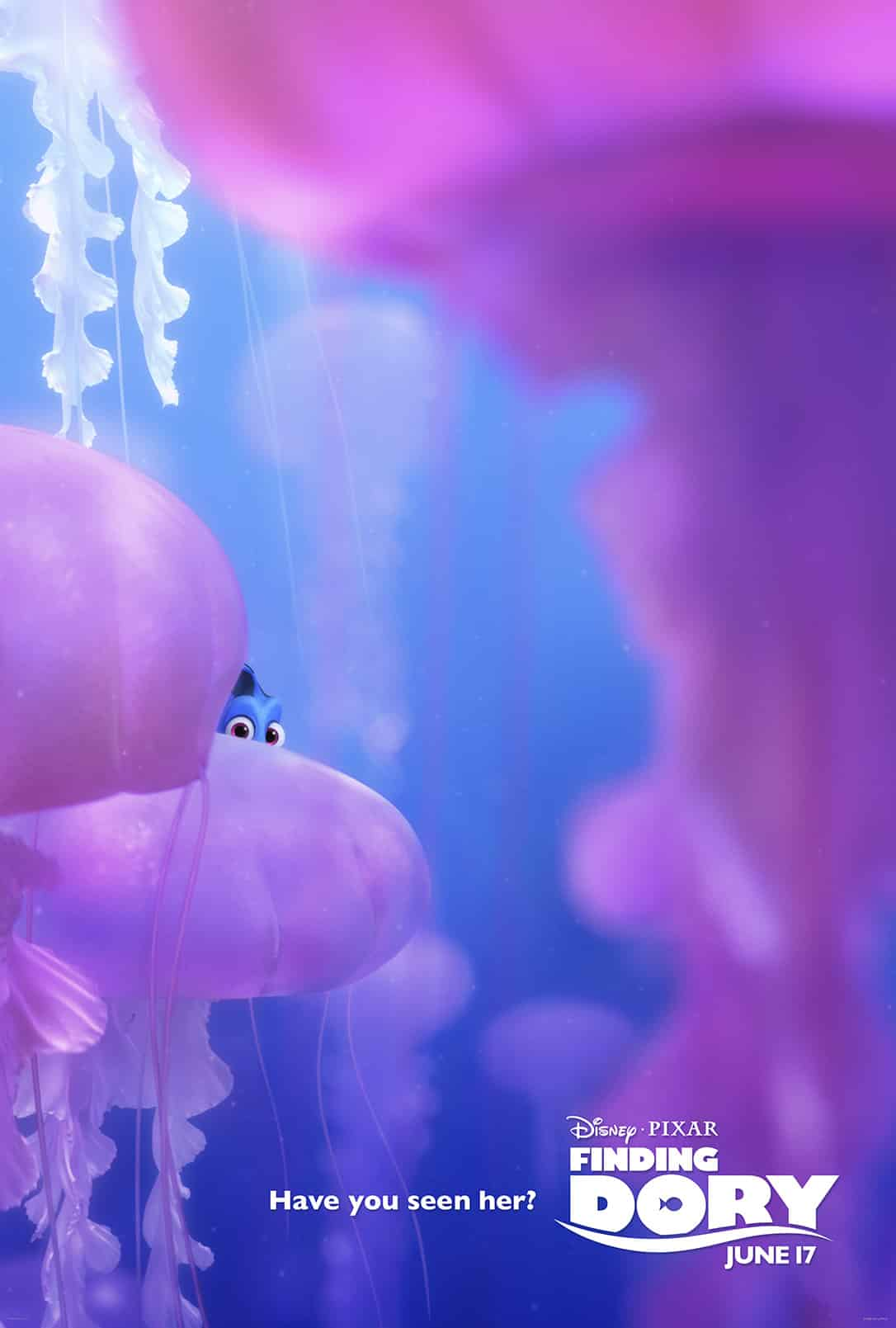 Finding Dory will be in theaters on June 17. #FindingDory