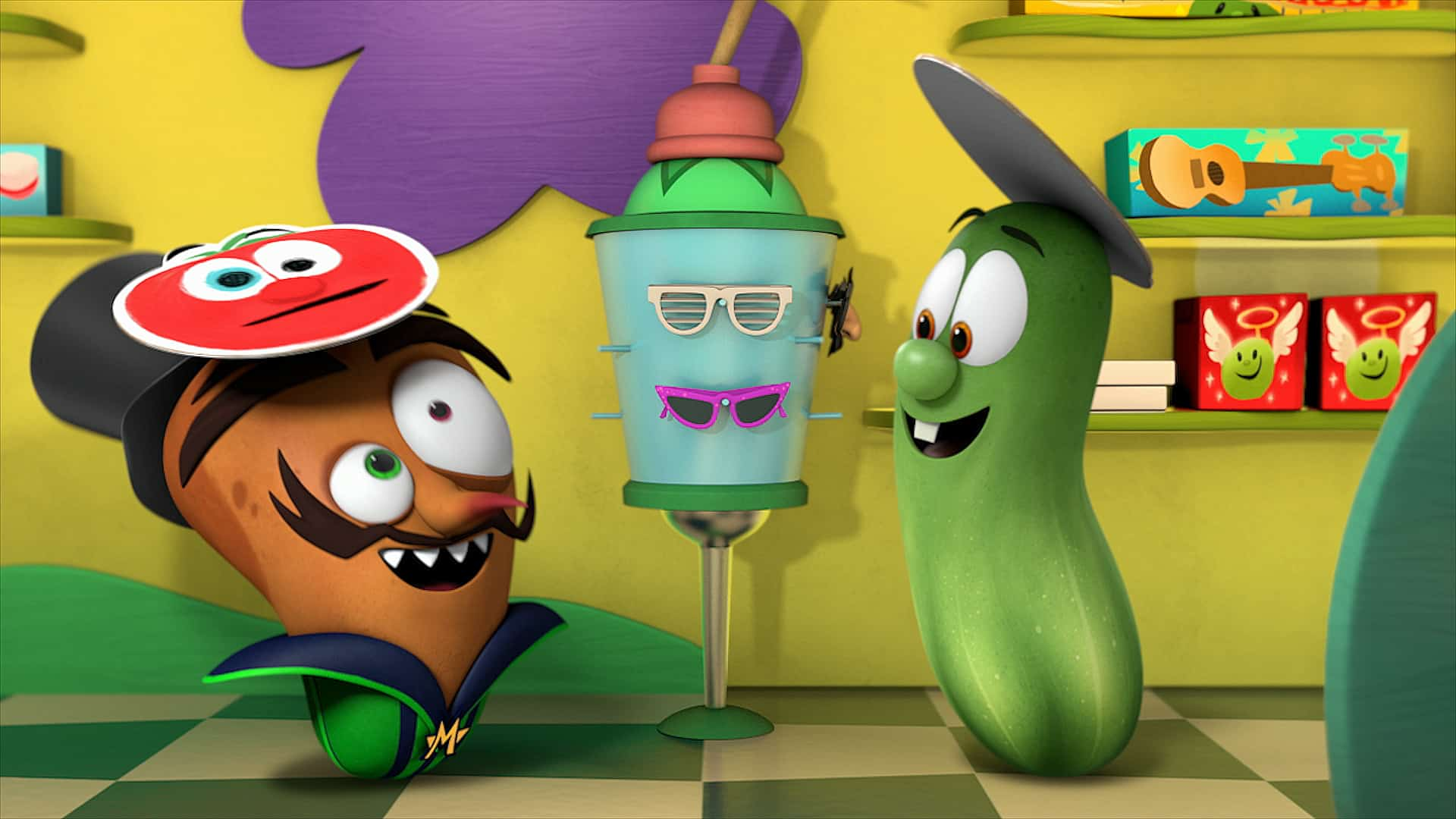 Veggie Tales Season 3 on Netflix