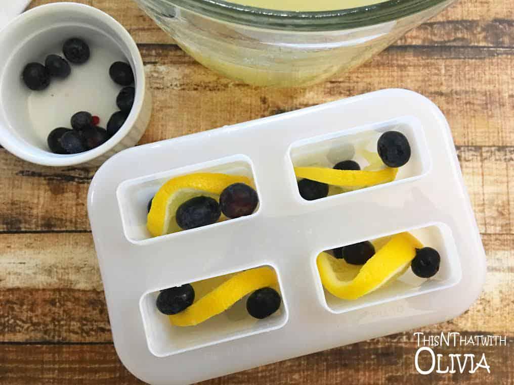 Blueberry Lemonade Pops