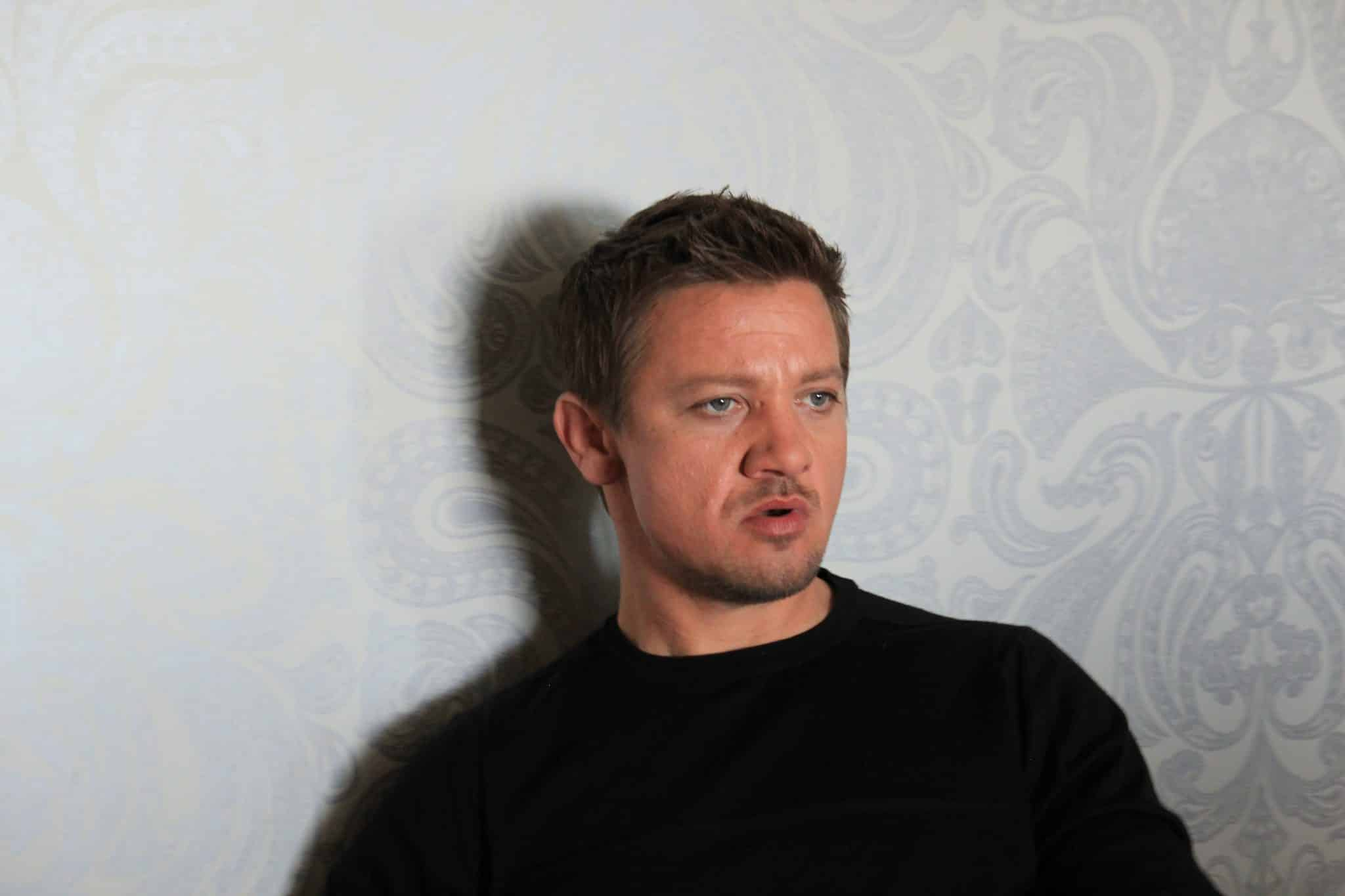 Jeremy Renner Interview at the Captain America Event