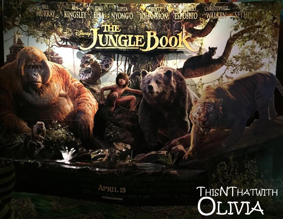 The Jungle Book Poster at El Capitan Theatre