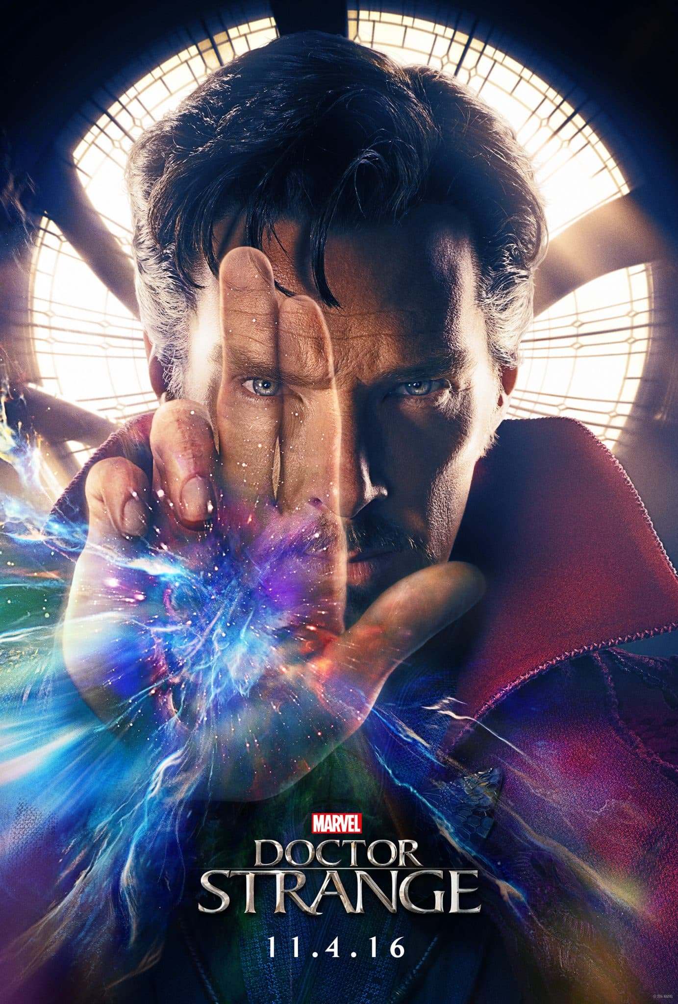 Doctor Strange In Theaters 11/4