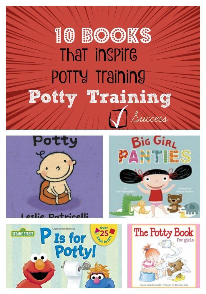 10 Books that Inspire Potty Training Success