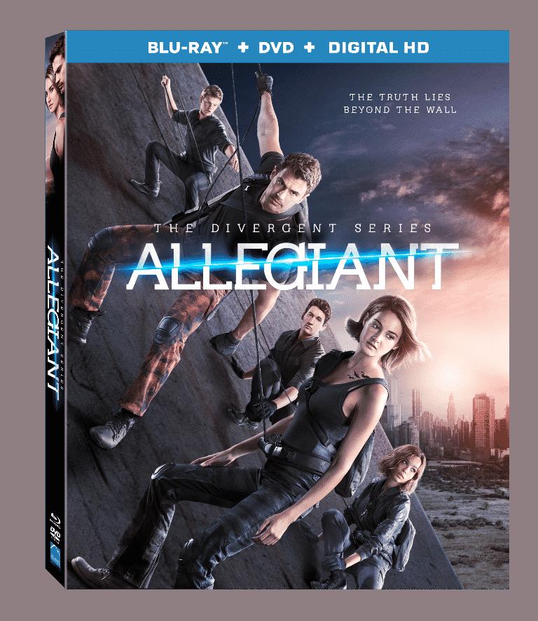Allegiant on DVD 6/21