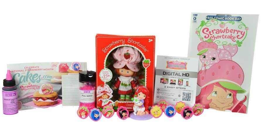 Strawberry shortcake prize pack