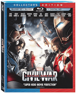 Marvel's Captain America: Civil War On Digital HD on Sept. 2 and Blu-ray on Sept. 13 | ThisNThatwithOlivia.com