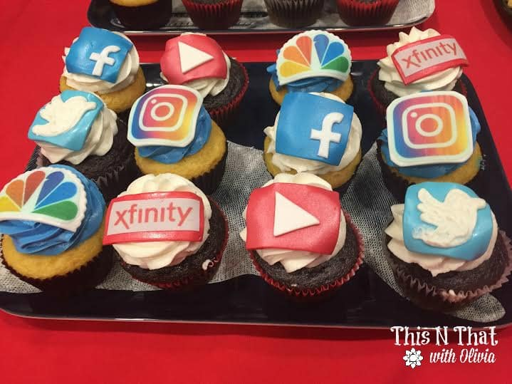 Cupcakes at XFINITY Event #XFINITYMOMS @ComcastBeltway