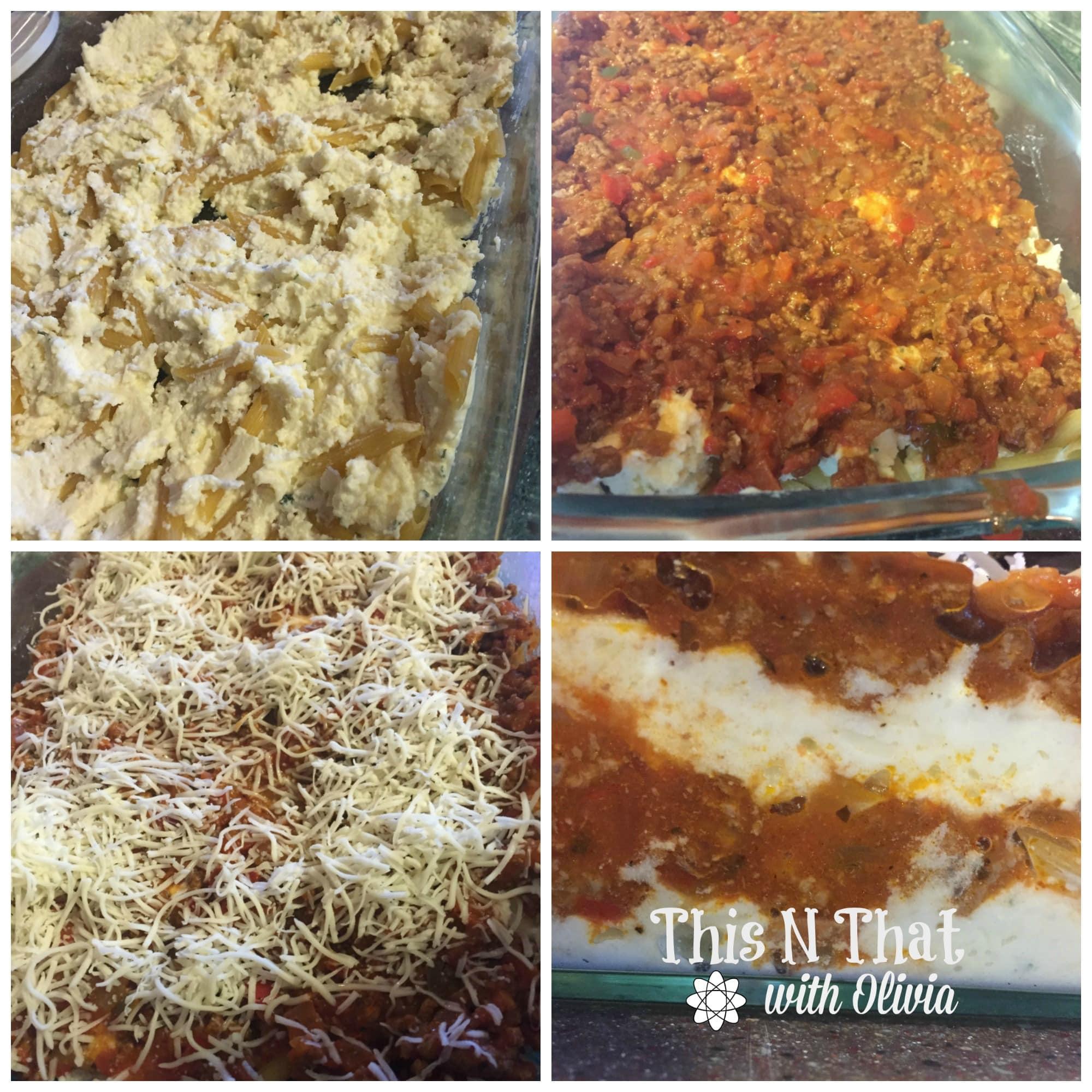 Baked Ziti with Prego® Farmers' Market Sauces #PickedAtPeak #ad   ThisNThatwithOlivia.com