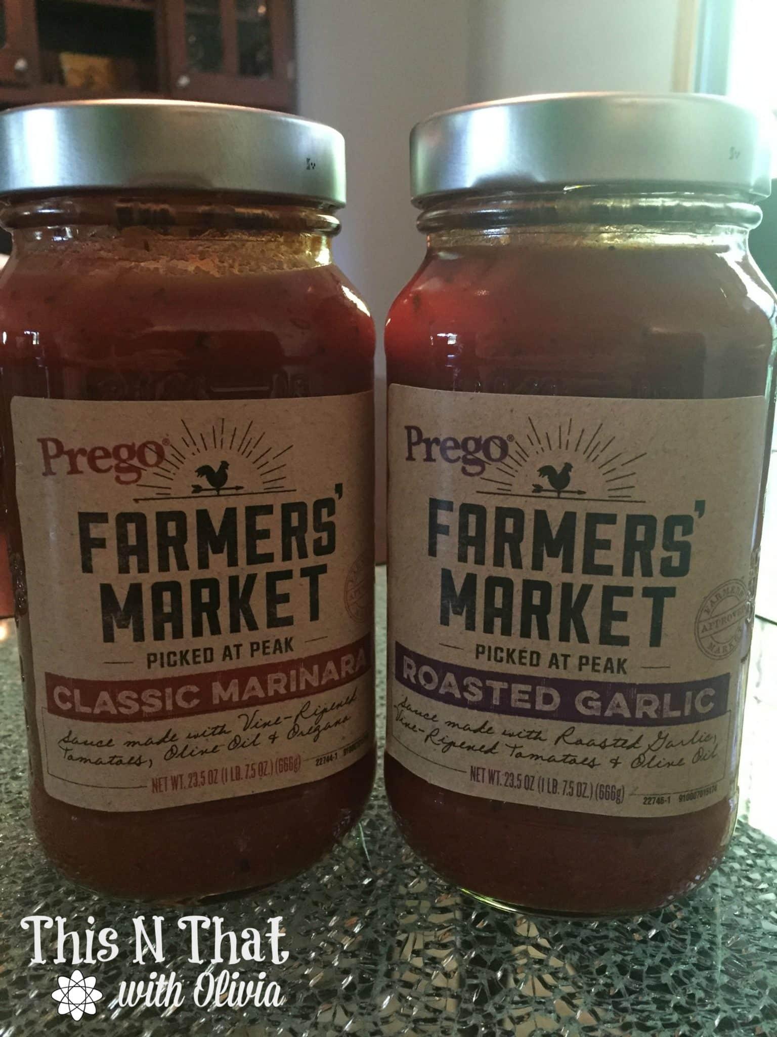 Baked Ziti Recipe using Prego Farmers' Market Sauces #PickedatPeak   ThisNThatwithOlivia.com