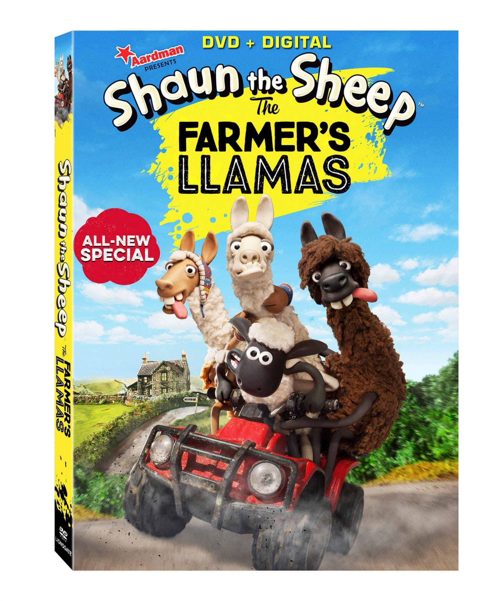 Shaun the Sheep: The Farmer's Llama DVD Review