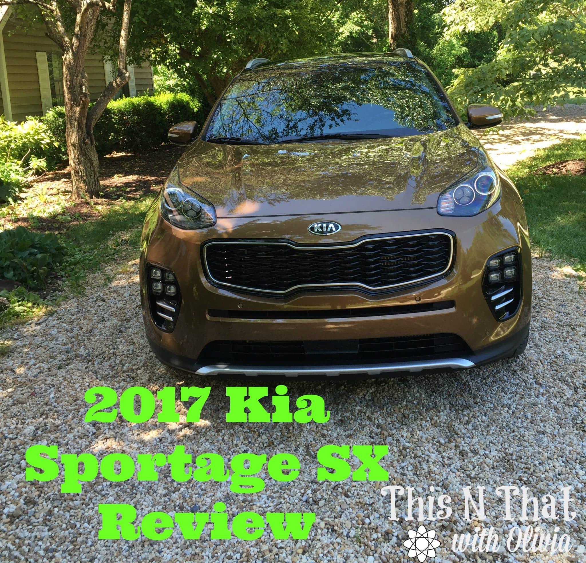 2017 Kia Sportage SX Review #DriveKia @Kia_Motors