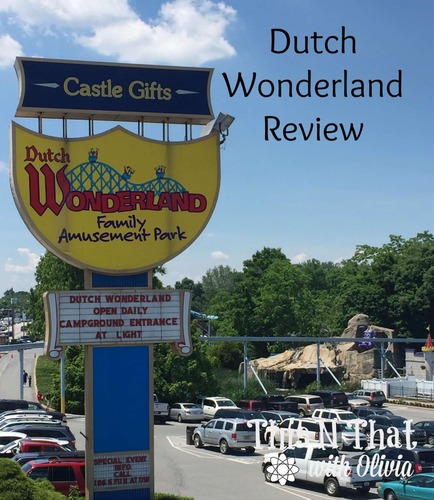 Family Fun at Dutch Wonderland | ThisNThatwithOlivia.com