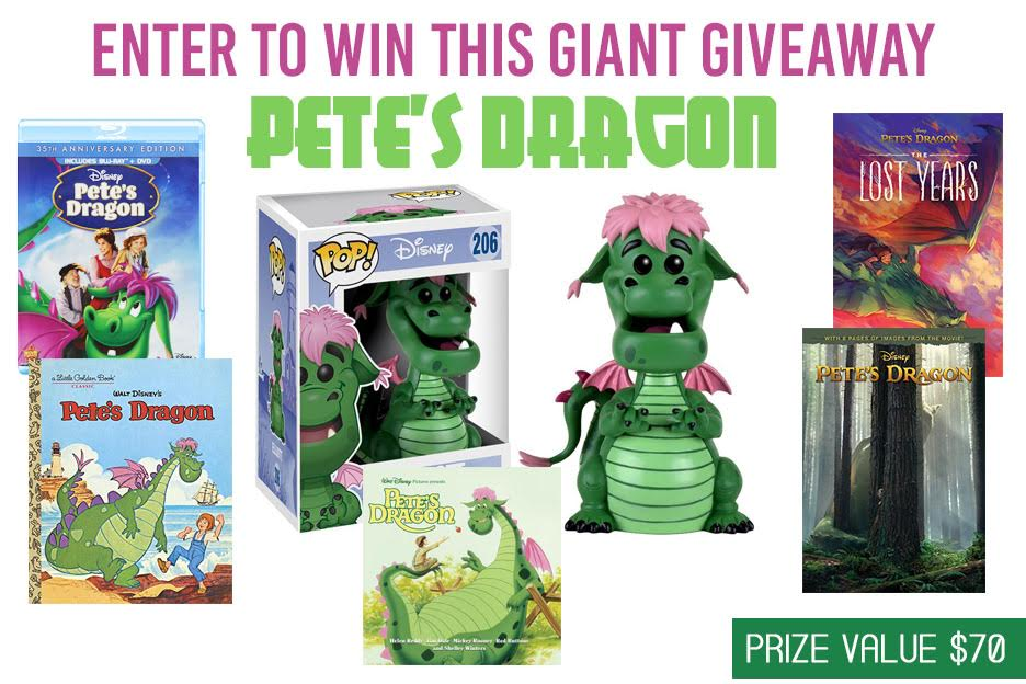 Enter to win a Pete's Dragon Prize Pack #PetesDragon | ThisNThatwithOlivia.com