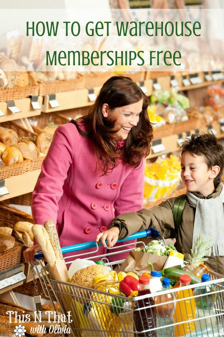 How to Get Your Warehouse Memberships Free! #Warehouse #Free | ThisNThatwithOlivia.com