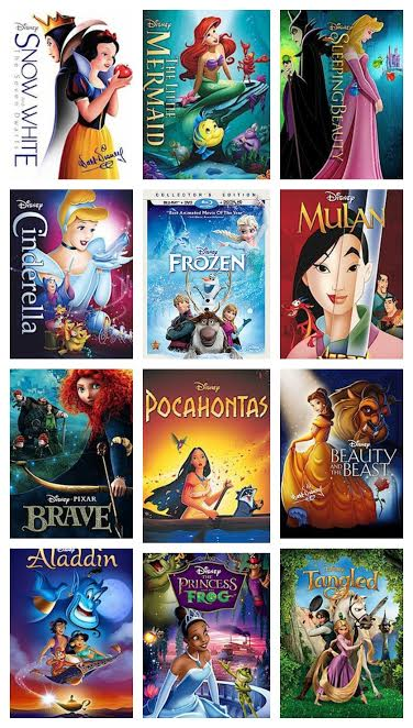 Disney Princess Movie Collection Giveaway   ThisNThatwithOlivia.com