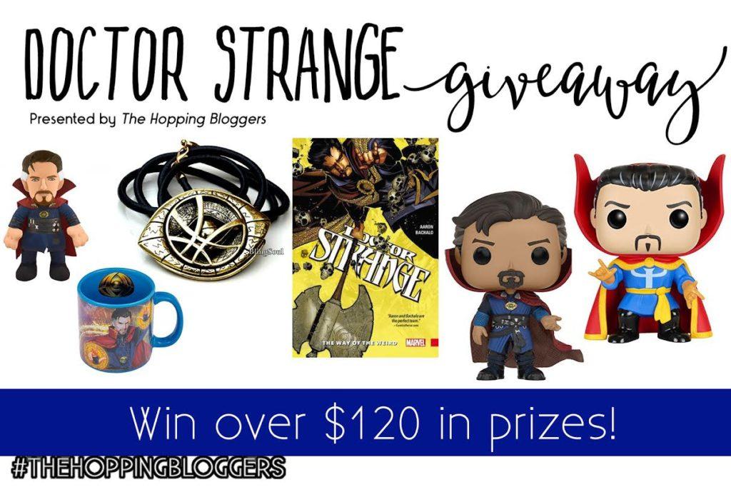 Win a Doctor Strange Prize Pack #DoctorStrange | ThisNThatwithOlivia.com