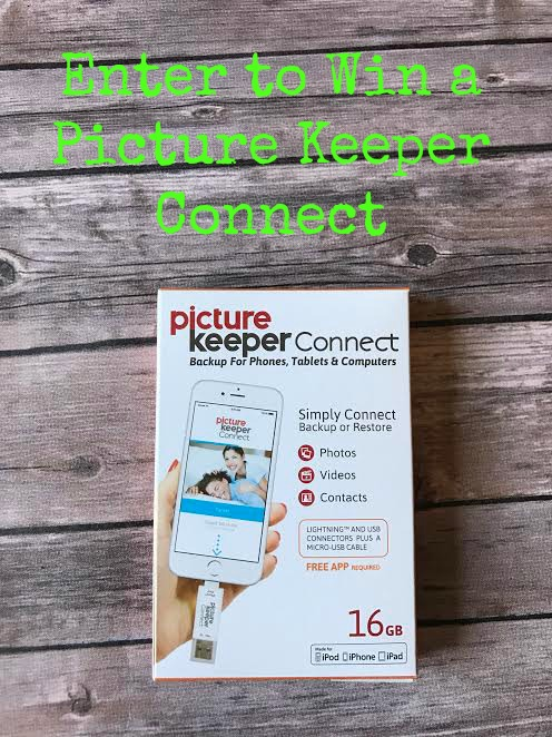 Enter to win a Picture Keeper Connect | ThisNThatwithOlivia.com