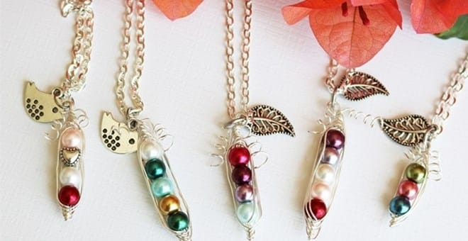 Jane.com: Peas in a Pod Necklaces only $6.99 (Regular $19.99)