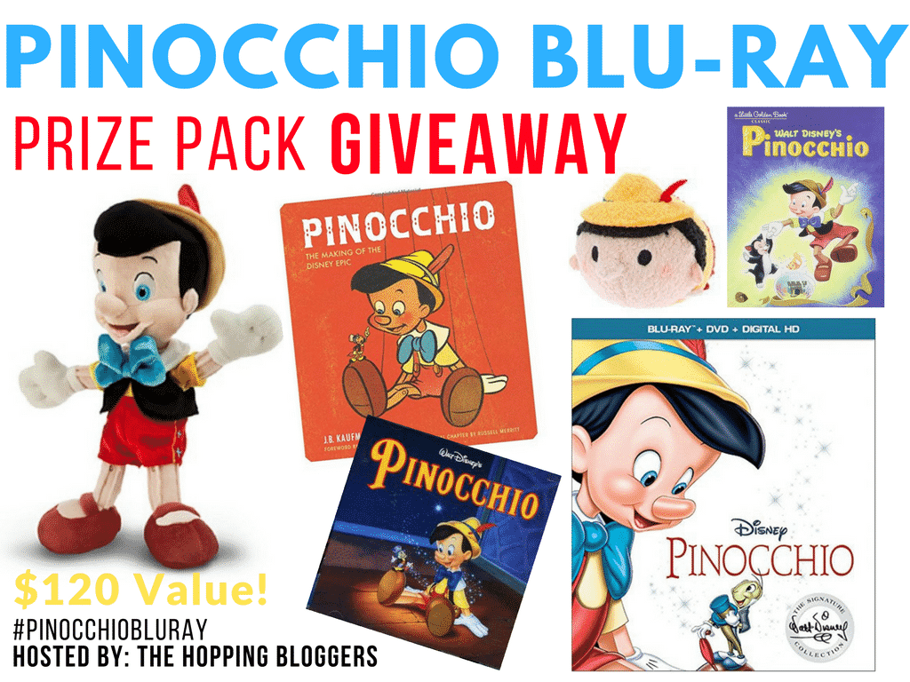 Enter to win a Pinocchio Prize Pack Ends 2/10 PinocchioBluray #TheHoppingBloggers