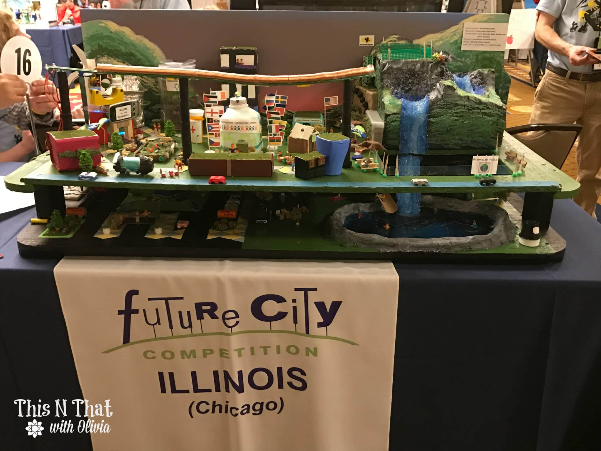 Future City Competition Live in D.C. #FutureCity25 #ad @DiscoverEOrg
