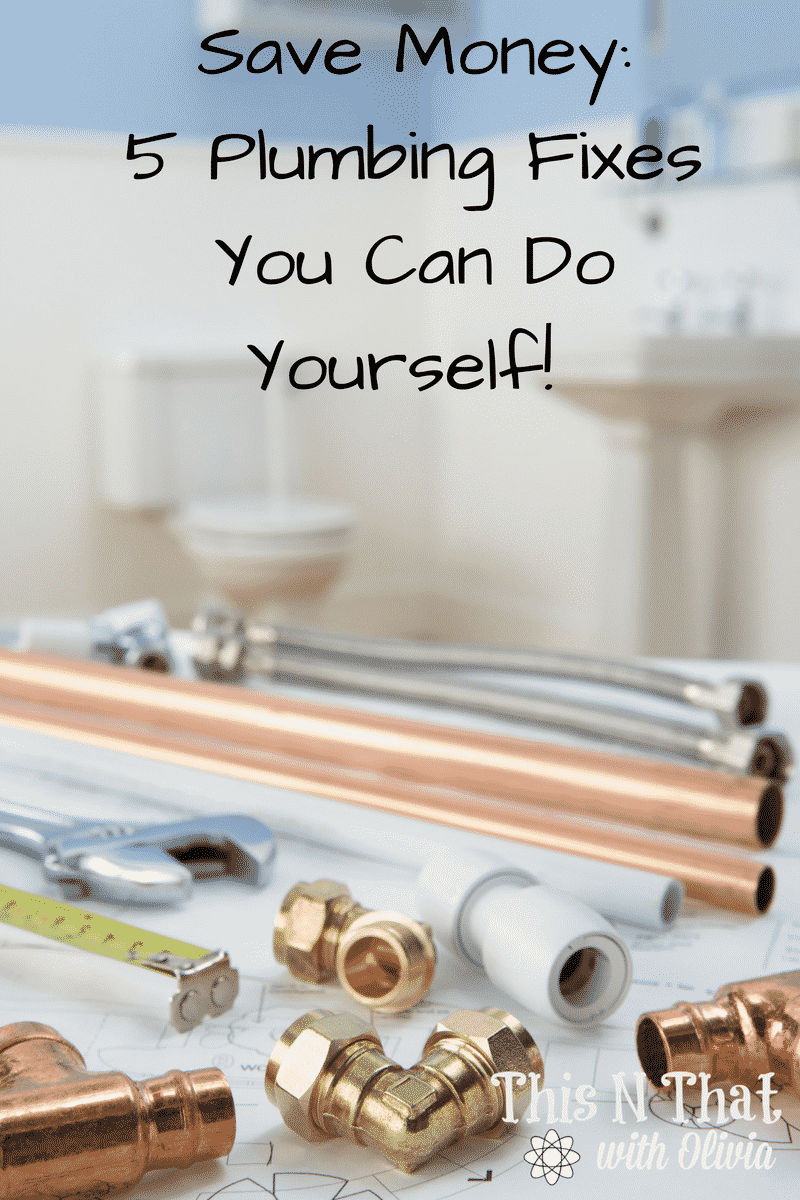 Save Money: 5 Plumbing Fixes You Can Do Yourself! @RotoRooter