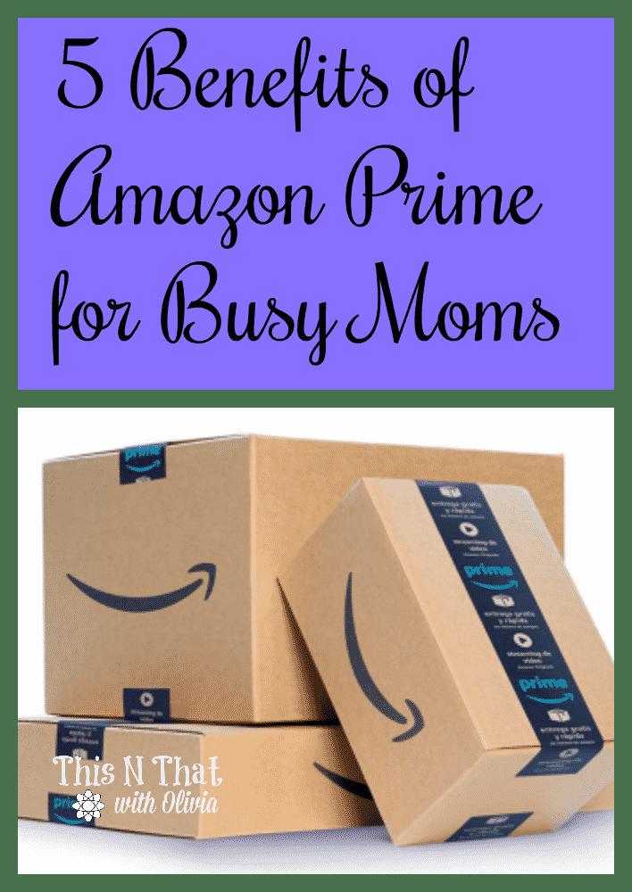 Amazon prime advantages