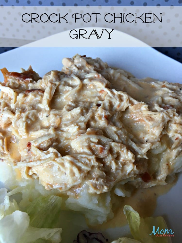 Crock Pot Chicken Gravy Recipe #EasyDinners